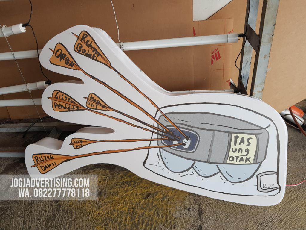 Jasa Pembuatan Neon Box di Sumenep, Harga Termurah dan Kualitas Terpercaya