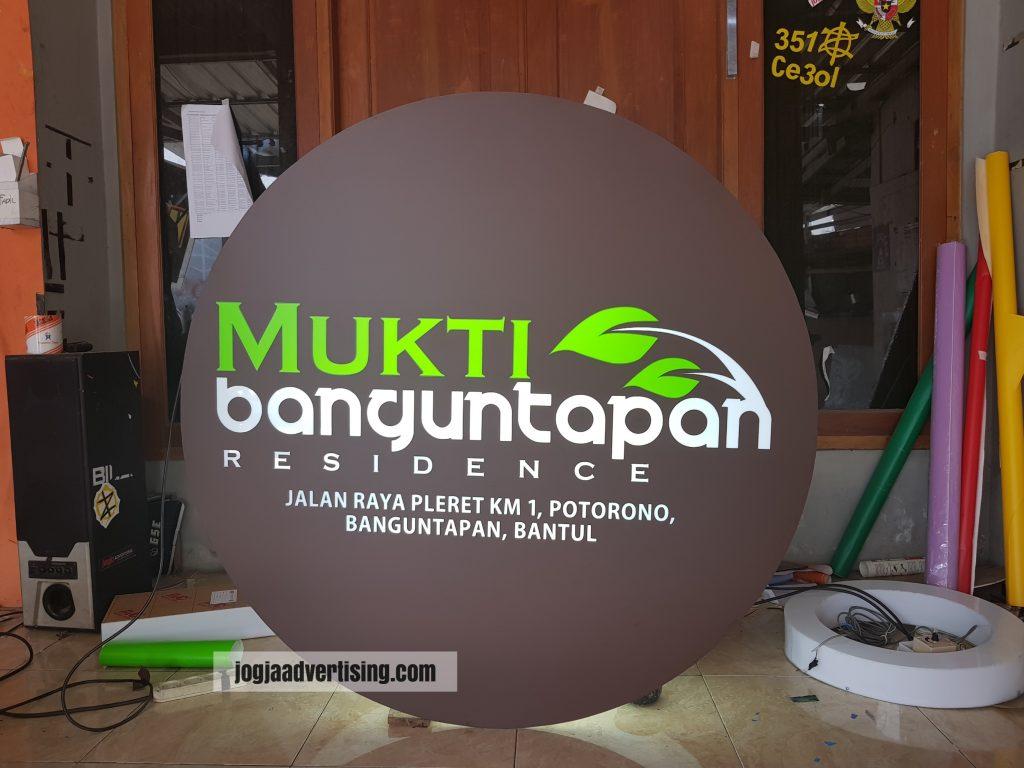 Jasa Pembuatan Neon Box di Purwokerto Paling Murah