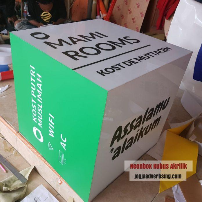 Jasa Pembuatan Neon Box di Klaten Profesional dan Termurah