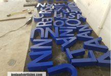 Jasa Pembuatan Huruf Timbul di Temanggung, Harga Murah dan Kualitas Terpercaya